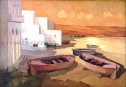 Marina Llançà Oli sobre tela 65 x 92