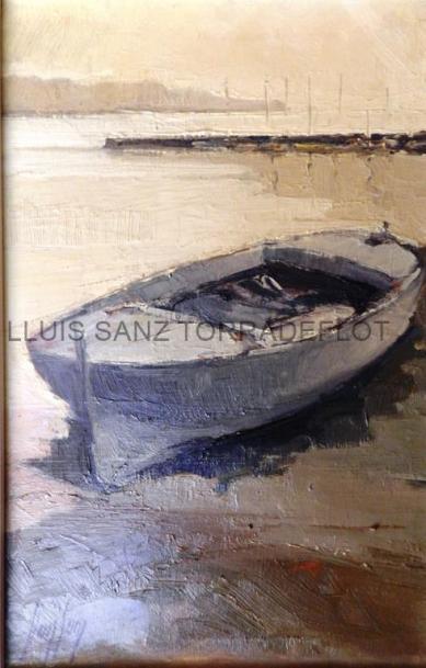 Marina Llançà Oli sobre tela 26 x 41