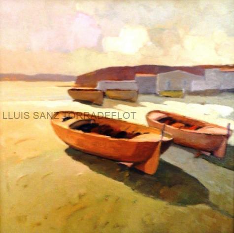 Marina Llançà Oli sobre tela 55 x 50