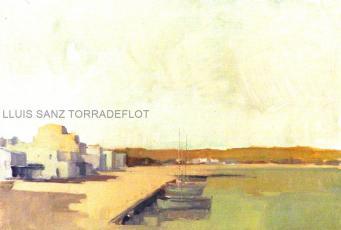 Marina Port de Llançà Oli sobre tela 55 x 37
