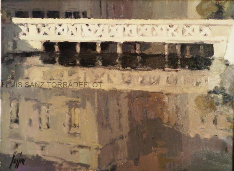 Pont de Cadaqués Oli sobre tela 73 x 54