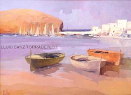 Port de Llançà Oli sobre tela 73 x 54